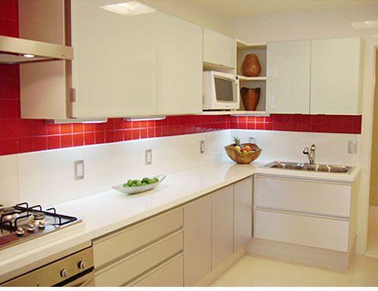 25 melhores ideias de cozinha planejada apartamento for Modelos de apartamentos pequenos