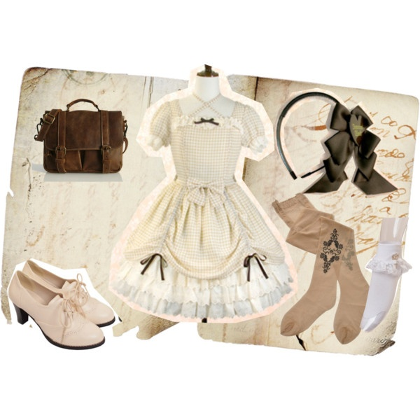 """Lolita Runway"" by lifeofhimeko on Polyvore"