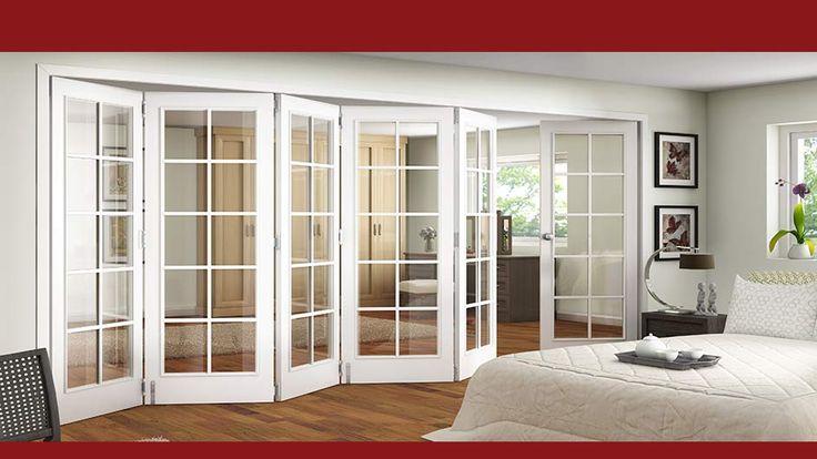 As 25 melhores ideias de interior folding doors no for 16x80 interior door