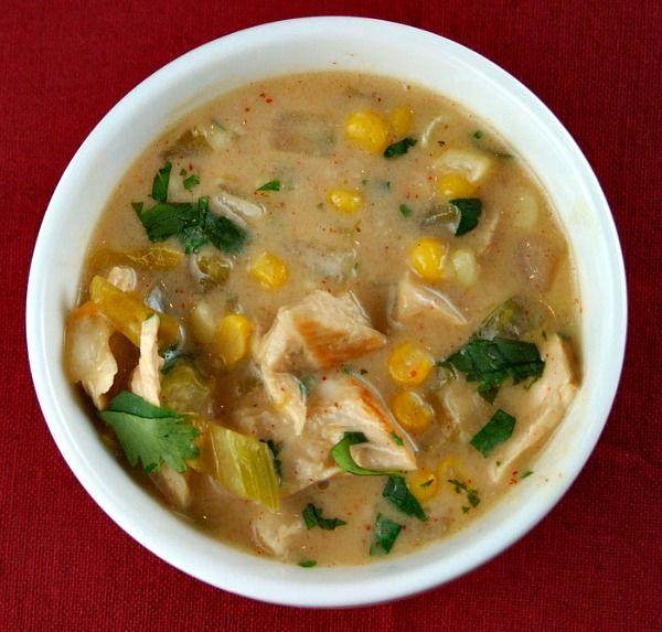 Creamy Mexican Turkey Soup