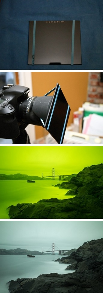 Use Welding Glass As 10 Stops ND Filter