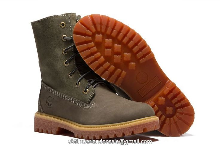 Green 8 Inch Snow Wool Leisure Timberland Earthkeepers Premium Men Boots $95.99