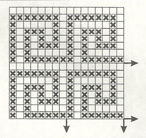 филейные узоры геометрические