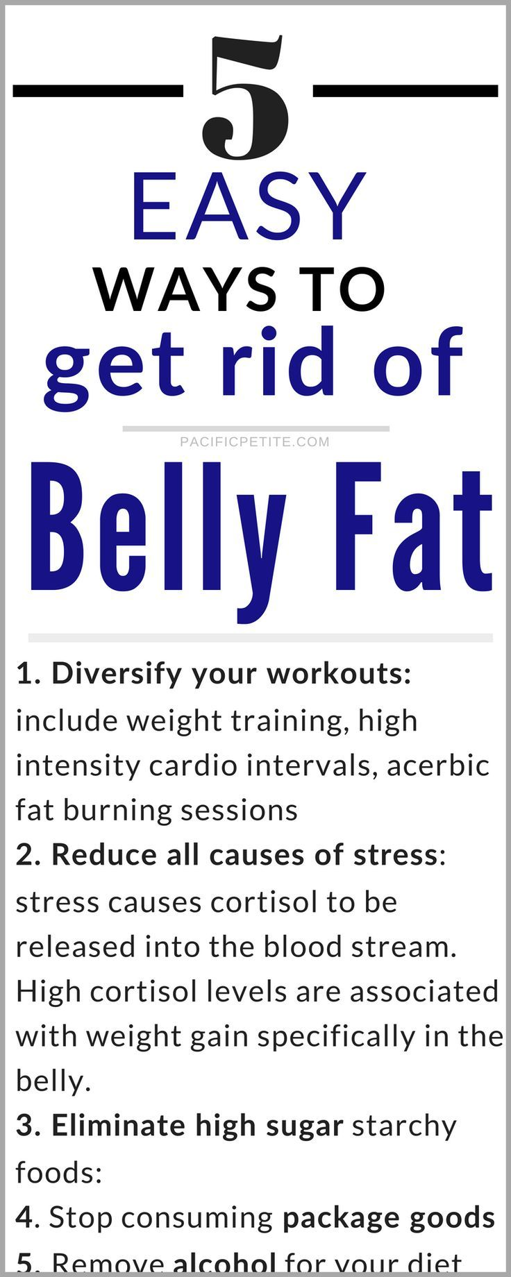 How To Get Rid Of Belly Fat Caused By Stress