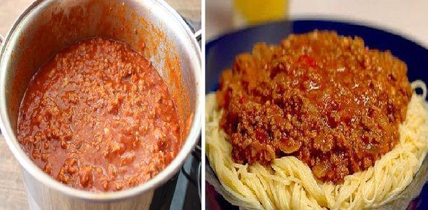 Cómo hacer Salsa Boloñesa ¡La receta original, Si te gusta dinos HOLA y dale a Me Gusta MIREN | Receitas Soberanas