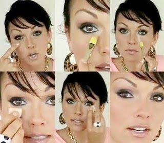 (Kandee Johnson - removing Dark Circles) I always had problems keep my dark circles covered, it always used to wear off. I followed this and I SWEAR by it! She is amazing. My makeup lasts all day.