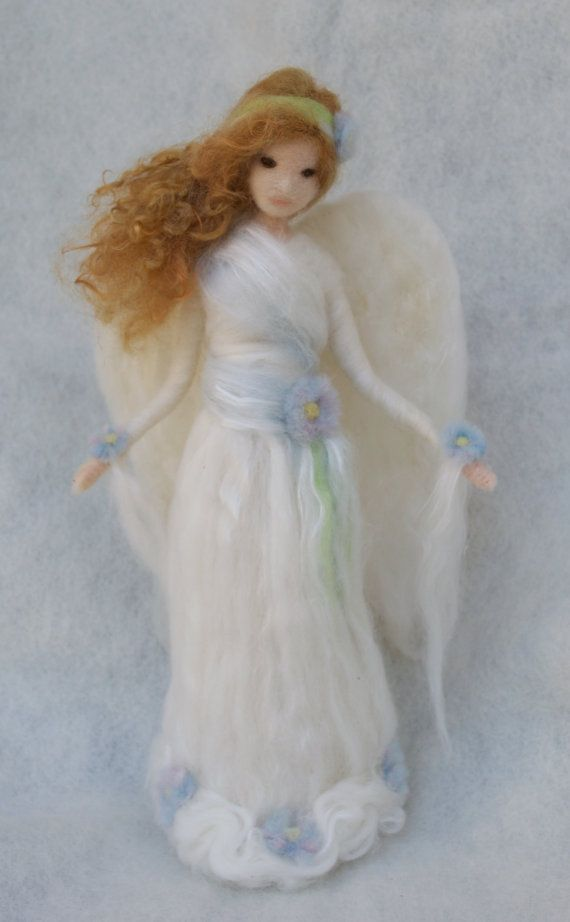 Angel Tree Topper personalizzato ago feltro di ClaudiaMarieFelt