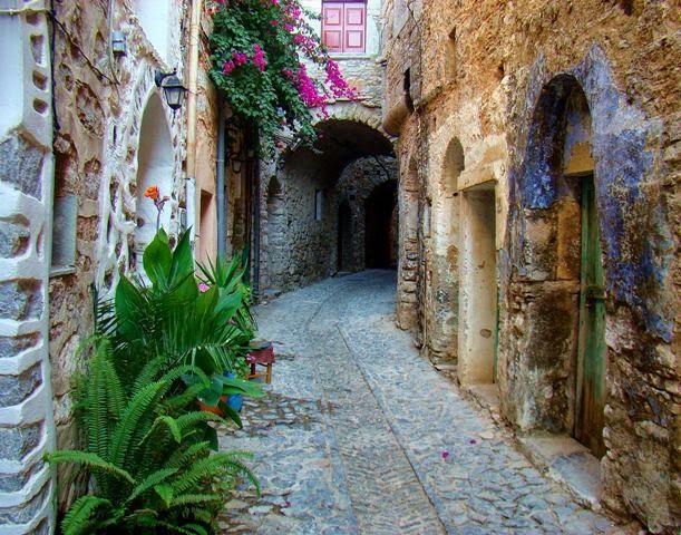Medieval Chios village