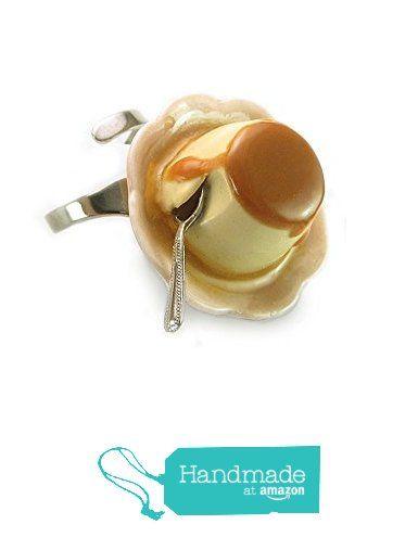 Crème Caramel Ring ~ Food Jewelry from HugsKissesMINI http://www.amazon.com/dp/B015XLGTGE/ref=hnd_sw_r_pi_dp_3vjjwb0GSVFSQ #handmadeatamazon