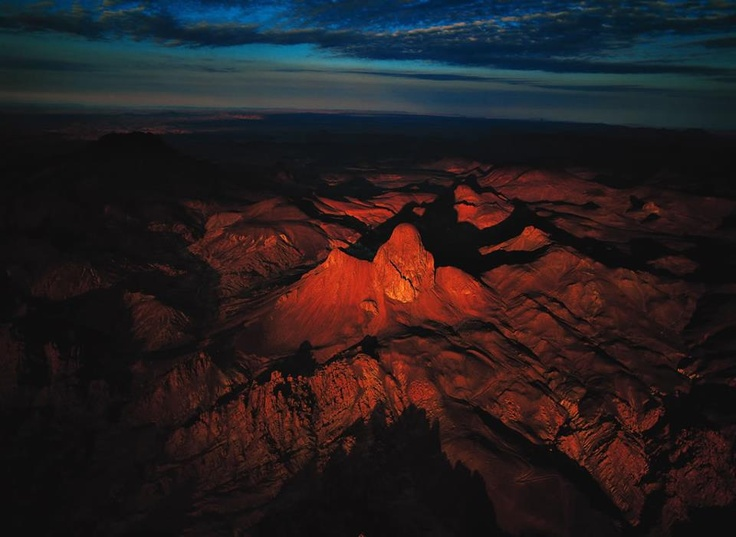 Great is the desert at night