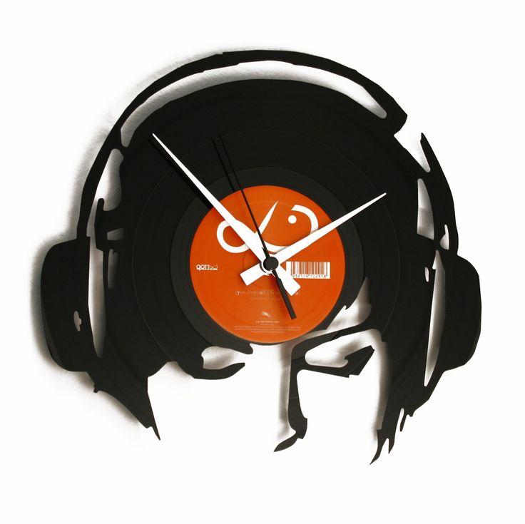 Disc'O'Clock Ceas de perete Djane@Work