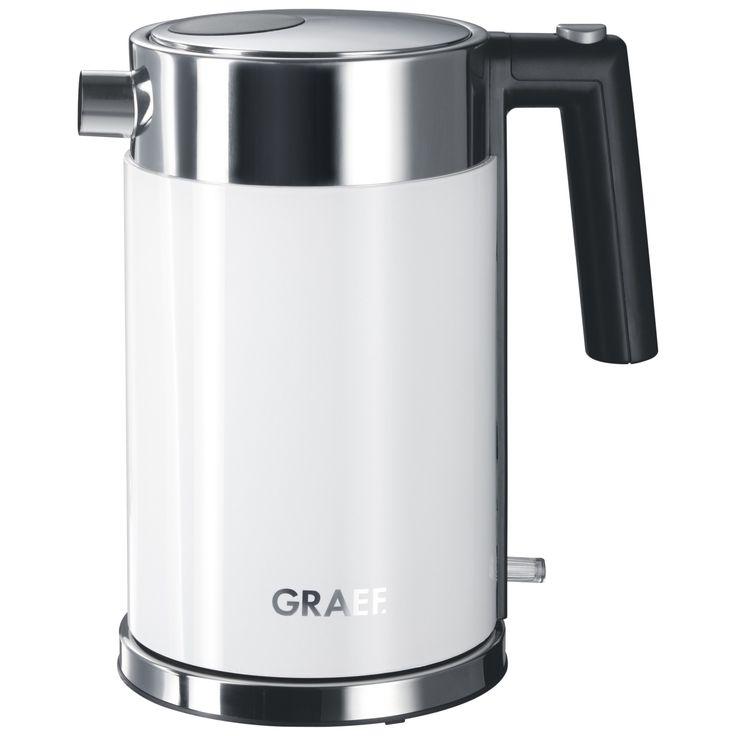 Graef long slot 2slice toaster brushed silver kettle