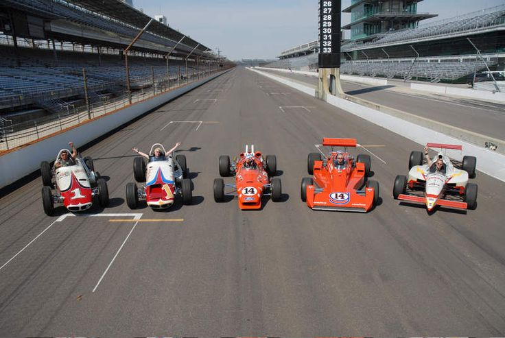 All five of AJ Foyt's Indy 500-winning cars