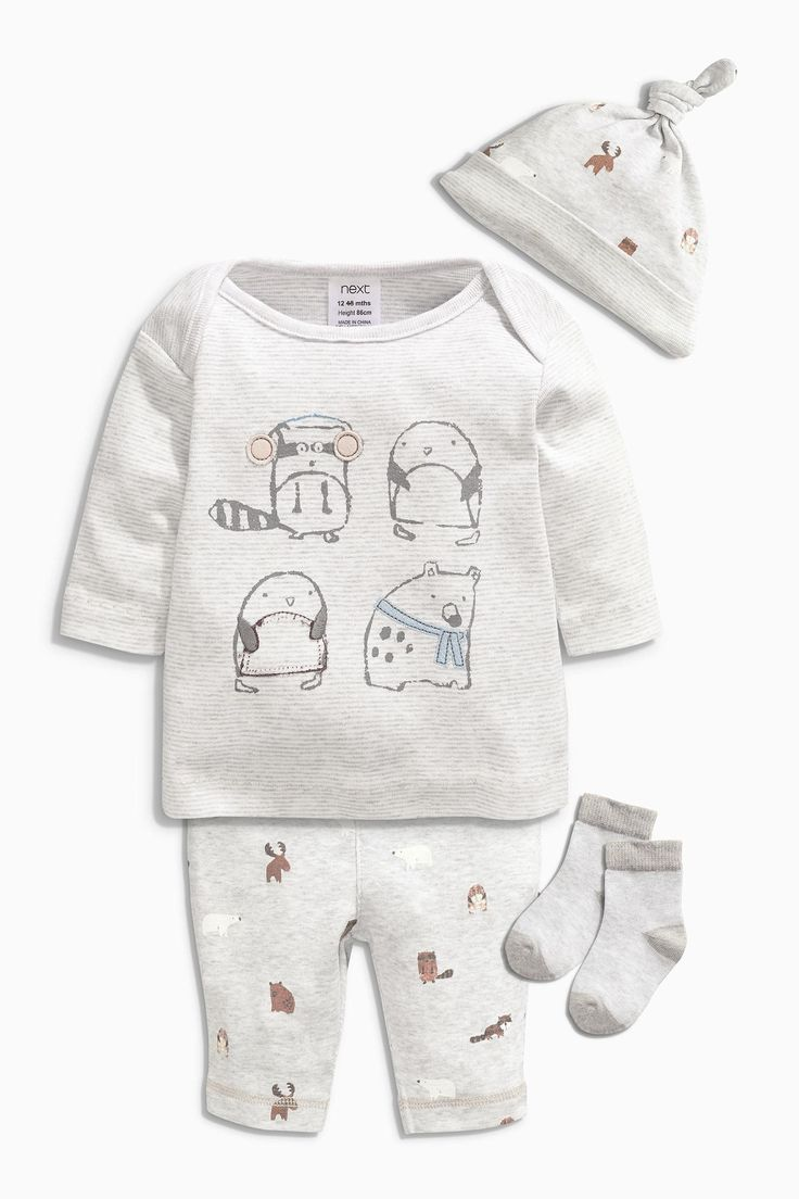 Buy Four Piece Animal Set (0-18mths) from the Next UK online shop