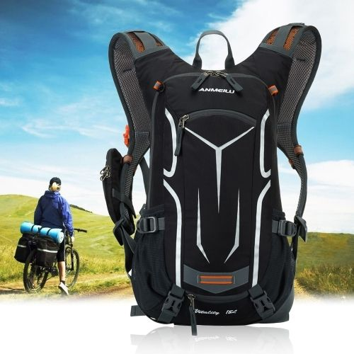22.99$  Buy here  - Lixada 18L Water-resistant Breathable Shoulder Backpack