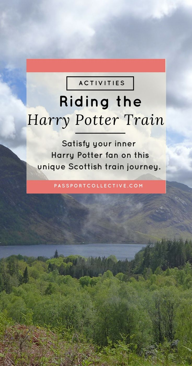 UK, Scotland - Join us for one of the world's best railway journeys, as we ride Scotland's Harry Potter train!
