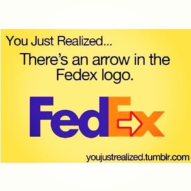 You just realized... Woah! I just did realize that!