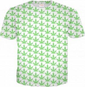 GANDJA WZÓR Koszulka T-Shirt Full Print 3D