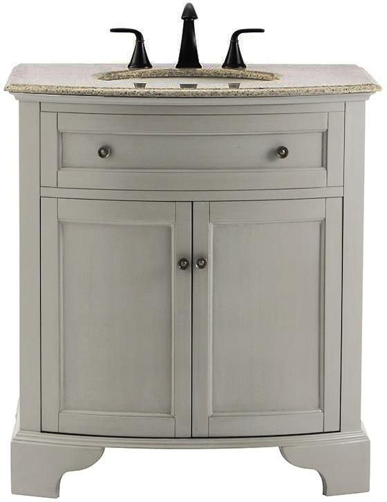 This Color Paint For Vanity In Guest Bathroom Chalk Paint Decor Small Space Pinterest