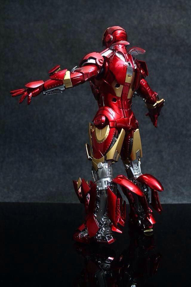 "Hot Toys Ironman mark II ""Unleashed"" Custom Colors and modifications Anazasi Custom"