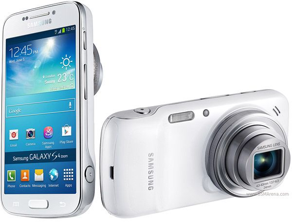Wow! This full-on camera smartphone hybrid actually exists? Samsung Galaxy S4 zoom http://www.gsmarena.com/samsung_galaxy_s4_zoom-pictures-5447.php