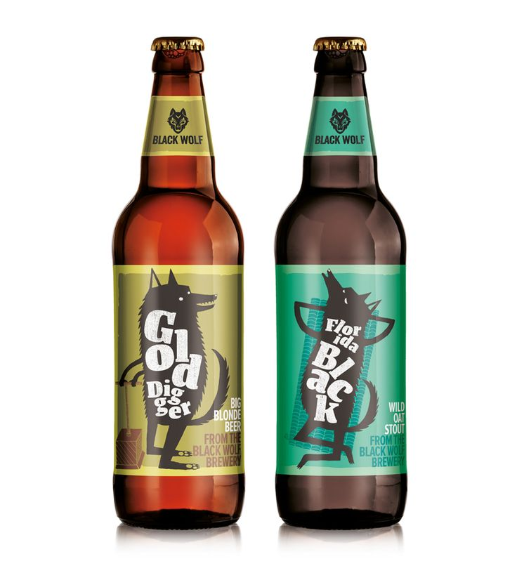 Black Wolf Brewery — The Dieline - Branding & Packaging
