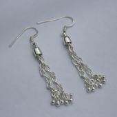 Dangle 925 Silver Earrings