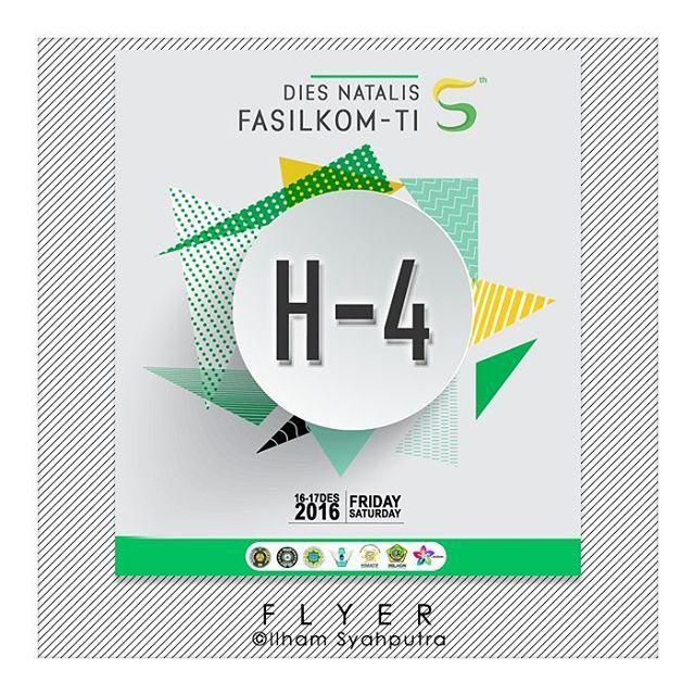 - @diesfasilkomti  Photoshop CC16 . . . . . #event #countdown #photoshop #infographic #flyer #art #design #indonesia #medan #usu