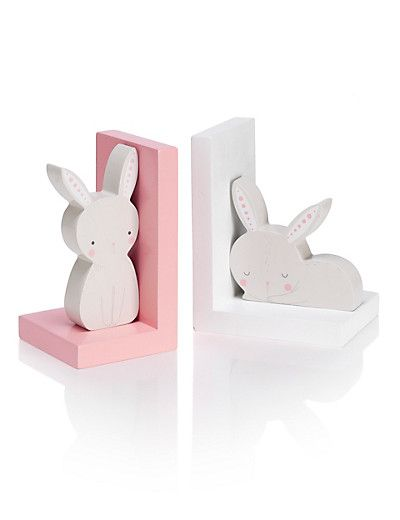 Bunny Bookends | M&S