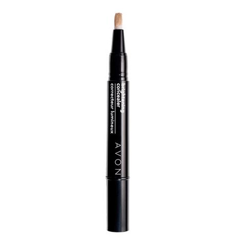 You will love this product from Avon:  Brigthening Concealer - Eyes wide open!! Light reflecting pearls help to dispel dark circles, fade away fine lines and airbrush away your imperfections, Available in a variety of tones.