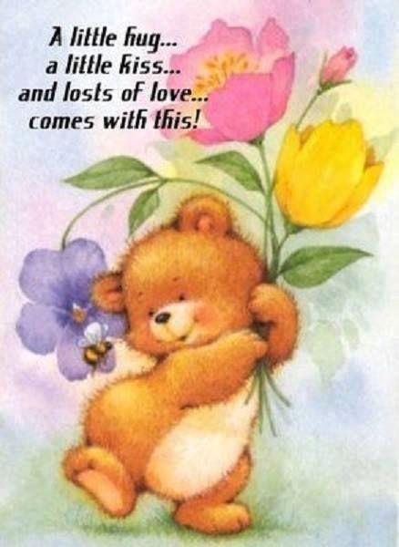 Good Morning Love And Hugs : Migliori immagini su hugs pinterest invio abbracci