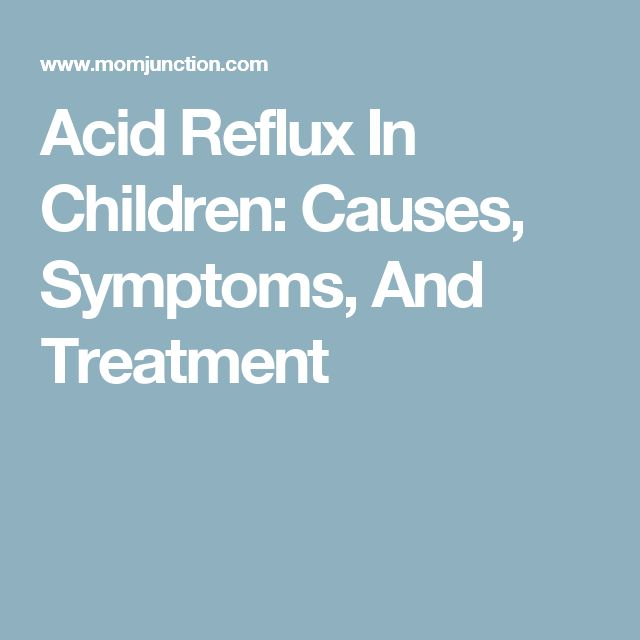 Natural Ways To Cure Acid Reflux In Babies