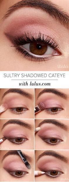 15 Easy Step by Step Bridal Eye Makeup Tutorials