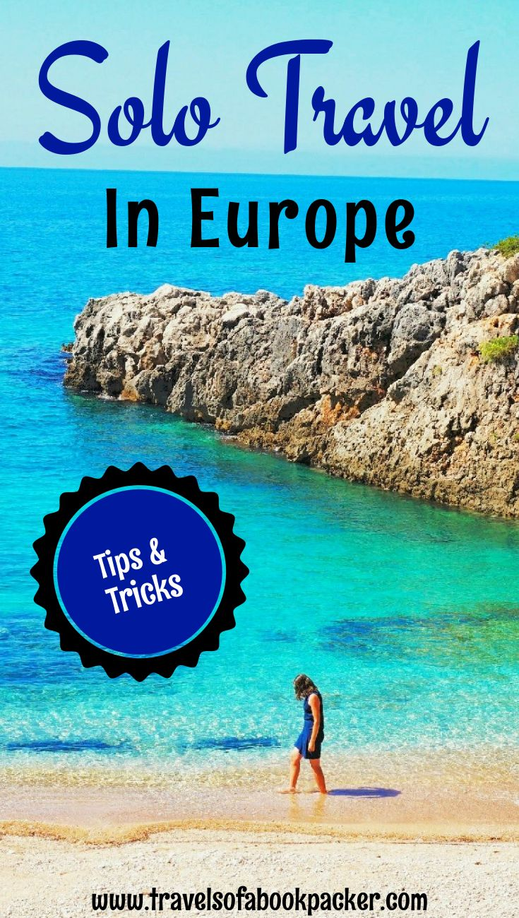 Are you planning a solo trip to Europe? Read this guide for all relevant information to make the most out of your solo trip to Europe! female solo travel | solo travel | solo travel Europe | solo female travel tips #europe #traveleurope #solotravel #soloeurope #solotraveleurope #solofemaltravel #sft