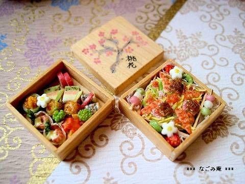 2011年に作ったお弁当3種です。 ◎2月のお弁当 ~梅のお花見弁当~ ◎3月のお弁当 ~桃の節句のお弁当~ ◎4月のお弁当 ~桜のお花見弁当~ ここまでで止まってしまいました。。。 いつか仕出し料理...