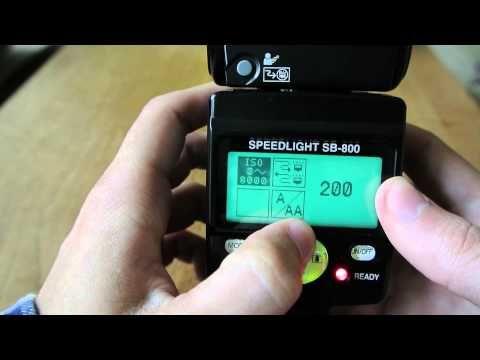Nikon SB-800 - YouTube