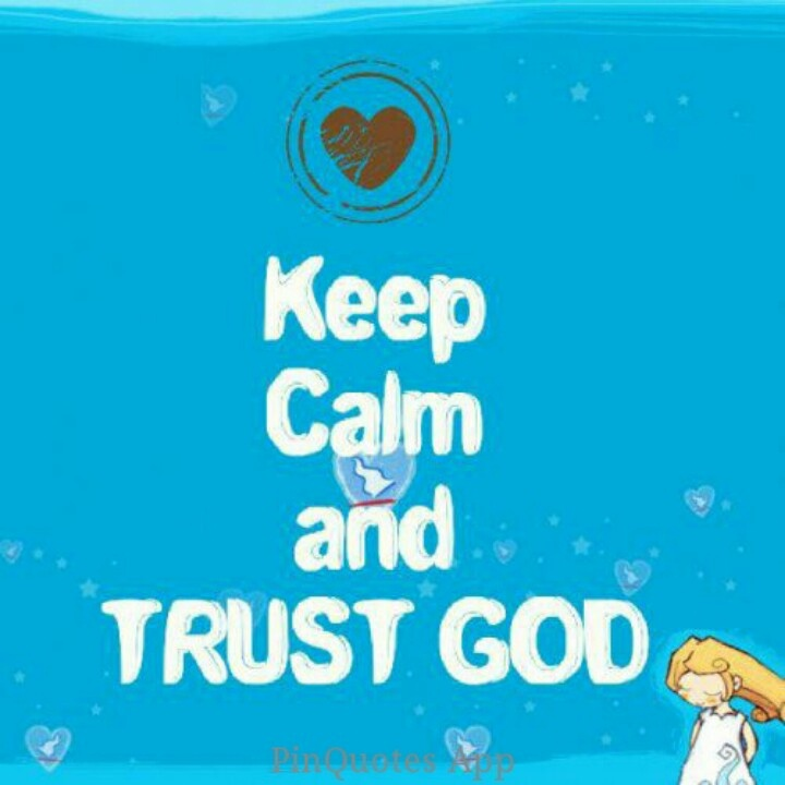 The importance of calming your emotions and trusting in the lord