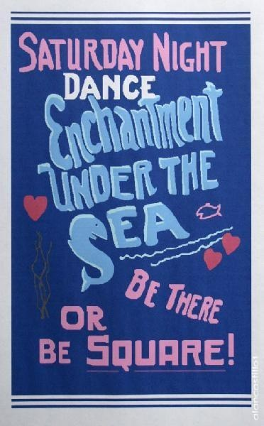 enchantment under the sea poster back to the future pinterest back to movie props and the. Black Bedroom Furniture Sets. Home Design Ideas