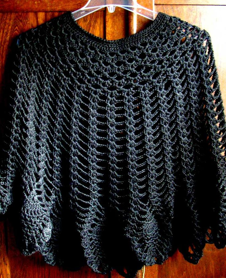 Shimmer Skirt Or Poncho By Doris Chan - Free Crochet Pattern - (ravelry)