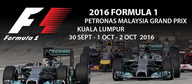 Formula 1 Malaysia Grand Prix Packages