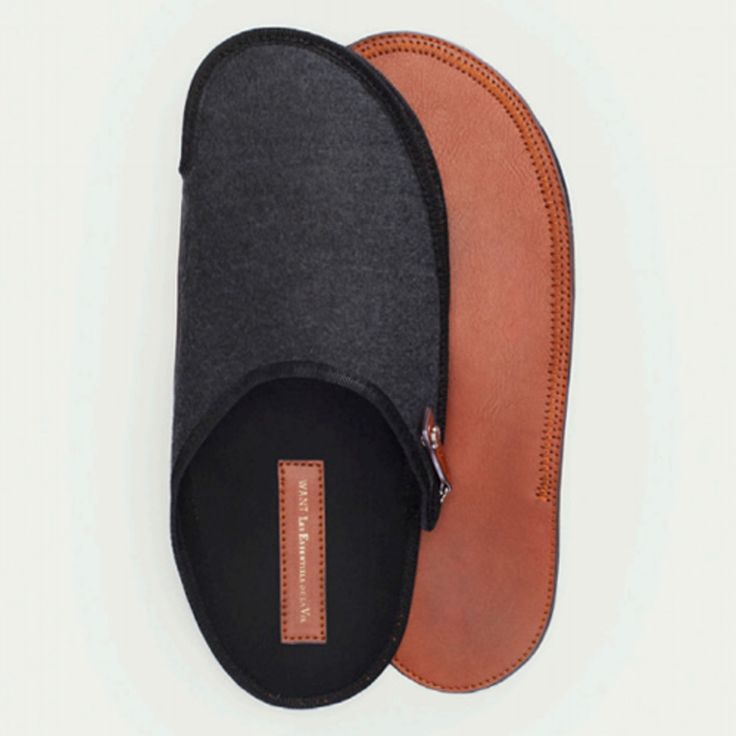 An must-have for your travel bag, Want's Prestwick Travel Slipper keeps your feet off of those questionable hotel floors and with its compact, easy to store design that zips flat, its a piece you should never travel without. Link