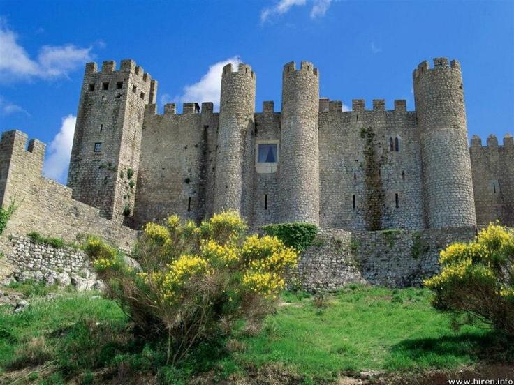 PortugualObidos Portugal, Favorite Places, Palaces, Medieval Castles, Amazing Castles, Amazing Places, Architecture, Castles Obidos, Pousada Castles