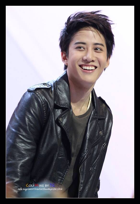 Mike D. Angelo at Motorshow, Impact Muangthong Thani ❤️ I love your smile ❤️