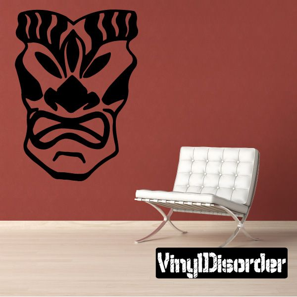 Mask Southwestern Wall Decal - Vinyl Decal - Car Decal - 043