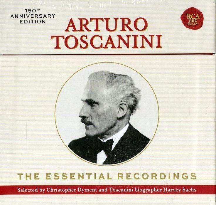 Toscanini Arturo - The Essential Recordings - Box 20  CD Nuovo Clicca qui per acquistarlo sul nostro store http://ebay.eu/2k0pVGz