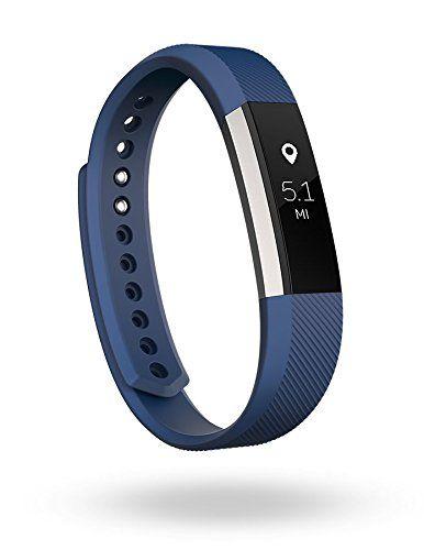 Fitbit Alta Bracelet pour fitness: Calcul des pas, distance, calories et minutes actives Affichage des statistiques et de l'heure sur…