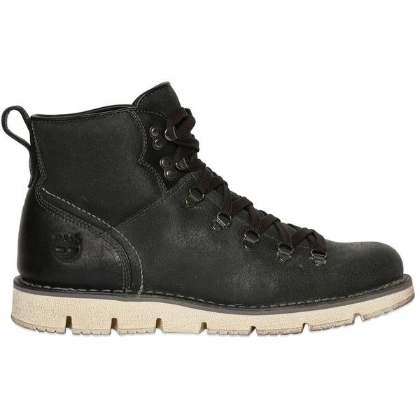 Timberland Men Westmore Hiker Suede Boots featuring polyvore, men's fashion, men's shoes, men's boots, dark green, timberland mens boots, timberland mens shoes, mens suede boots, mens shoes and mens suede shoes