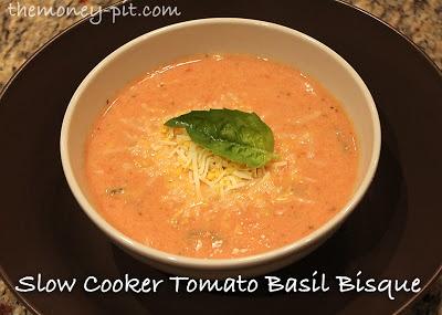 Crockpot tomato bisque