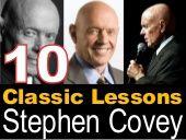 Steven Covey Lessons