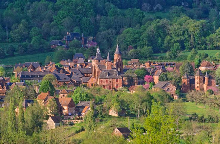 Collonges la Rouge, Corrèze, Limousin